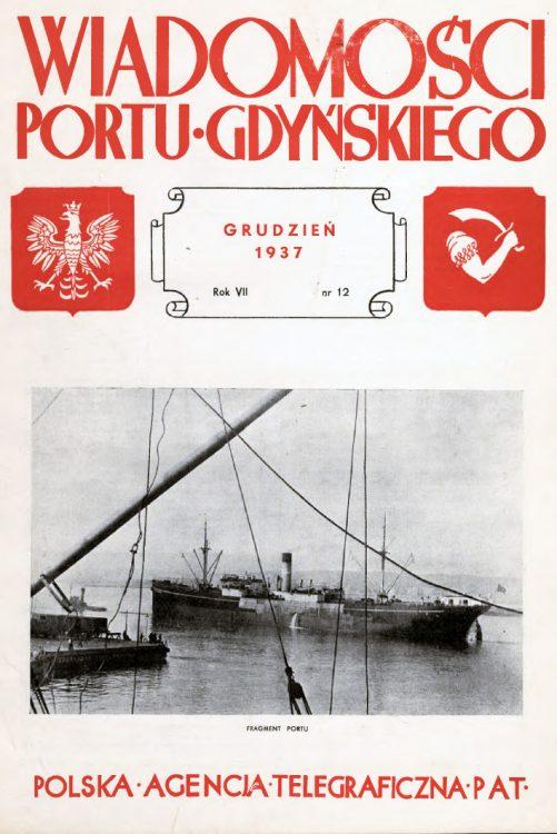 Wiadomości Portu Gdyńskiego. - 1937, nr 12