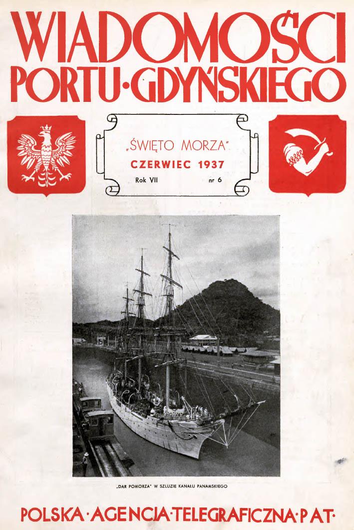 Wiadomości Portu Gdyńskiego. - 1937, nr 6