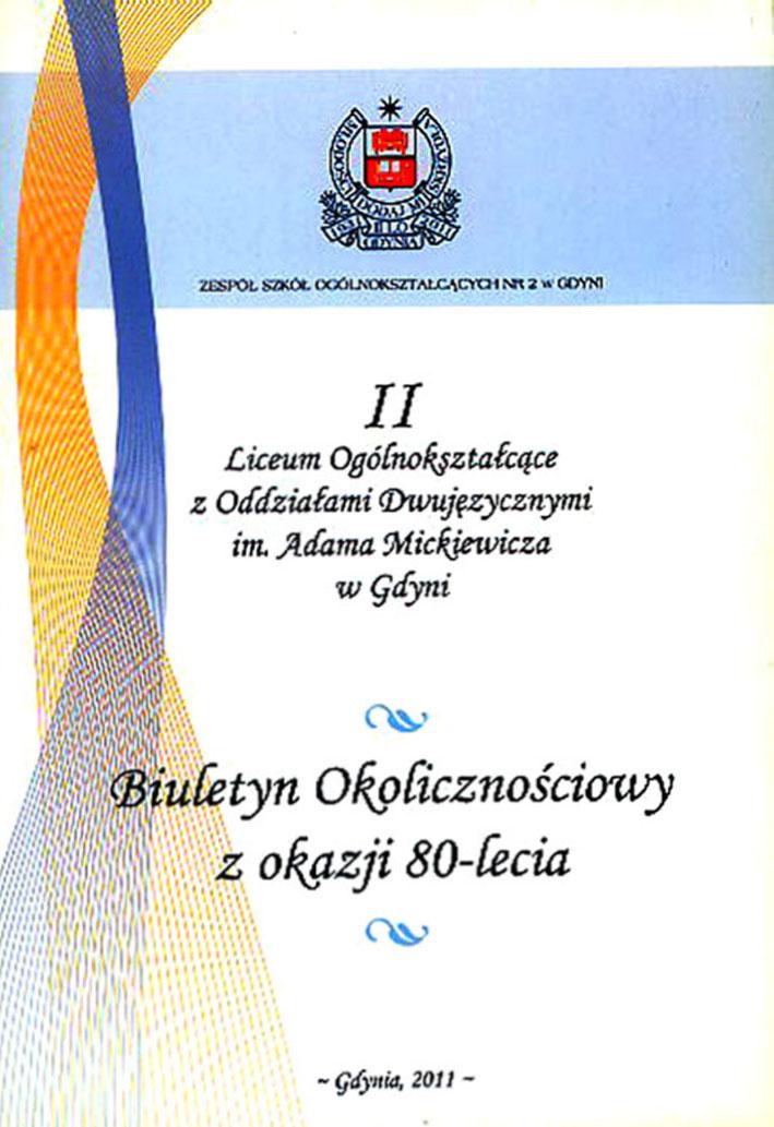 II Liceum Ogólnokształcące z Oddziałami Dwujęzycznymi im. Adama Mickiewicza w Gdyni