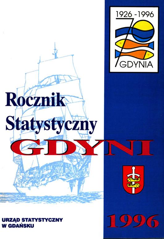Rocznik Statystyczny Gdyni 1996