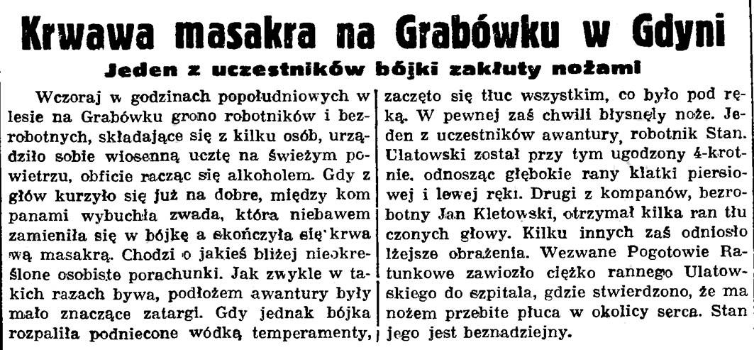 Krwawa masakra na Grabówku