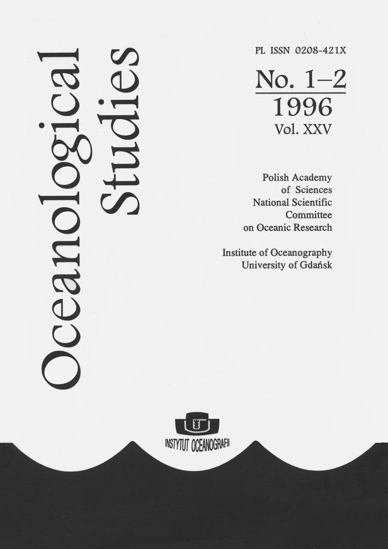 Oceanological Studies