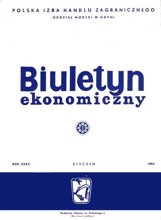 Biuletyn Ekonomiczny