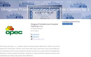 Certyfikat Solidna Firma Opec Sp.z o.o.