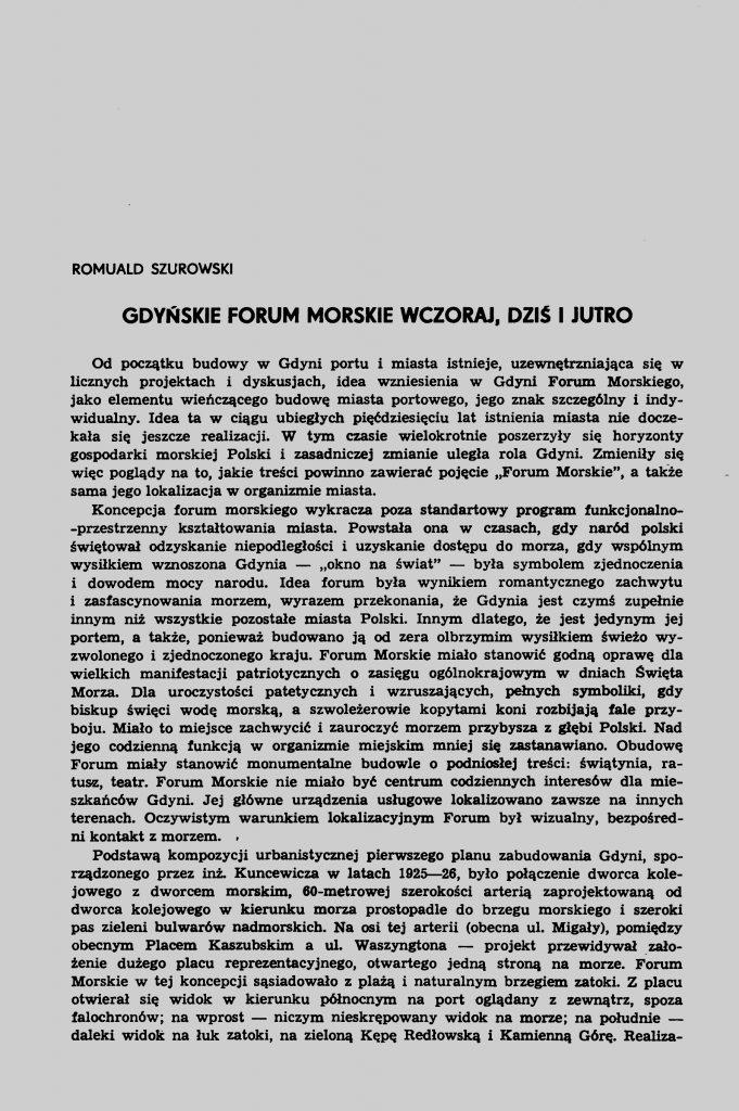 Gdyńskie Forum Morskie