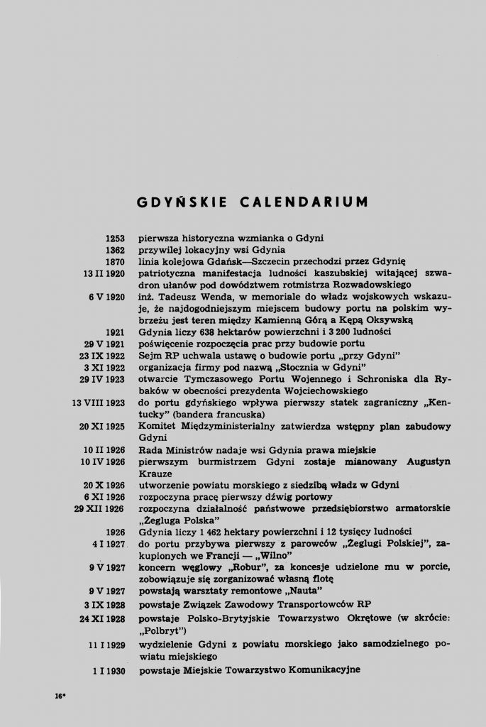 Gdyńskie Calendarium