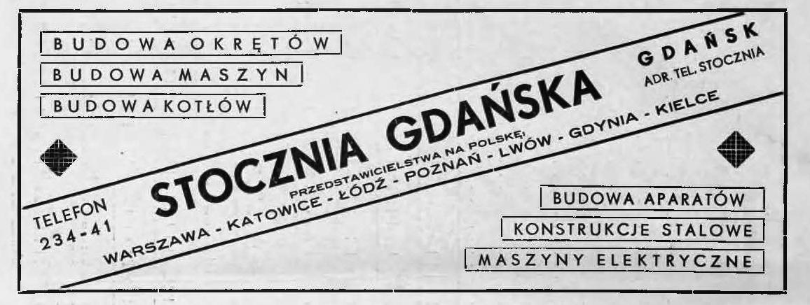 reklama - stocznia gdańska