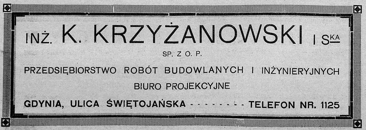 inż. Krzyżanowski