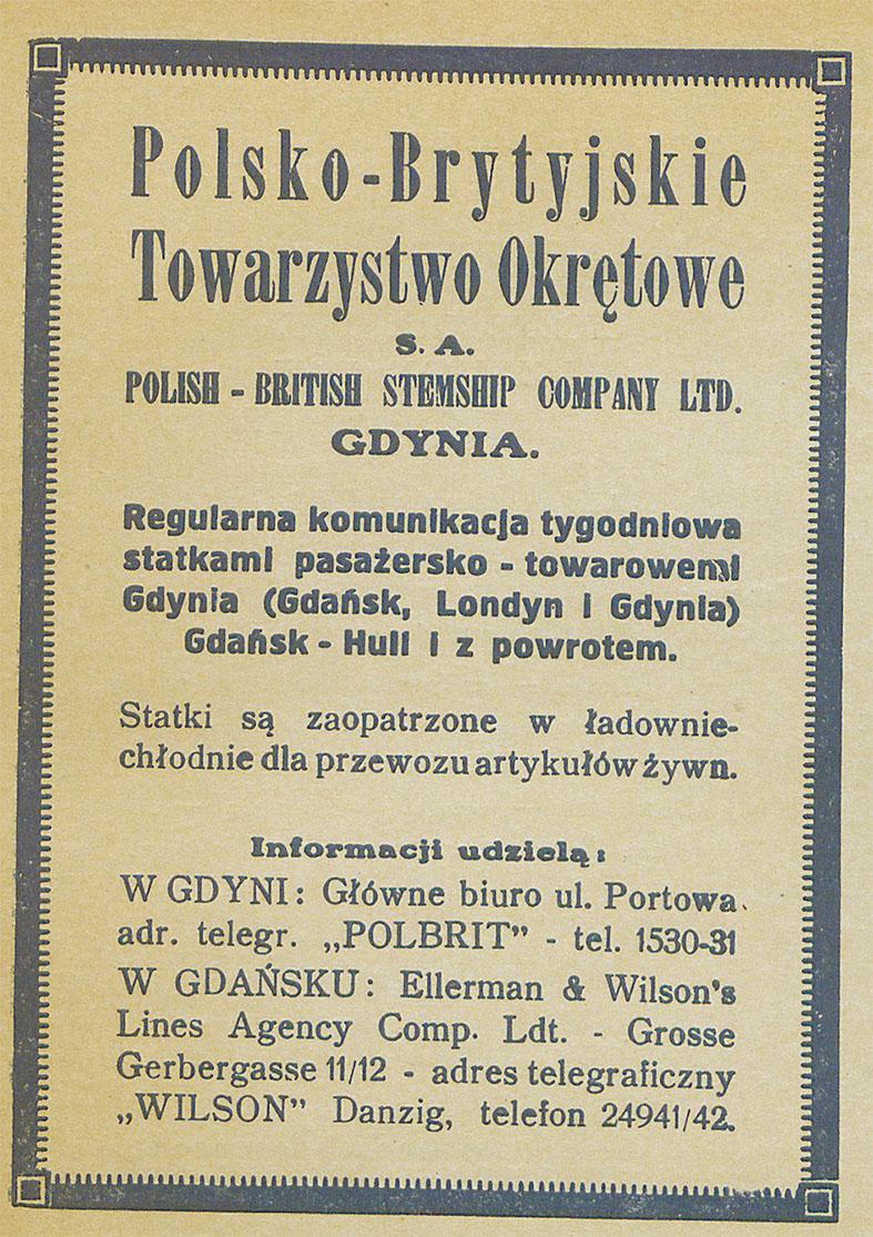Polsko - Brytyjskie Towarzystwo Okrętowe