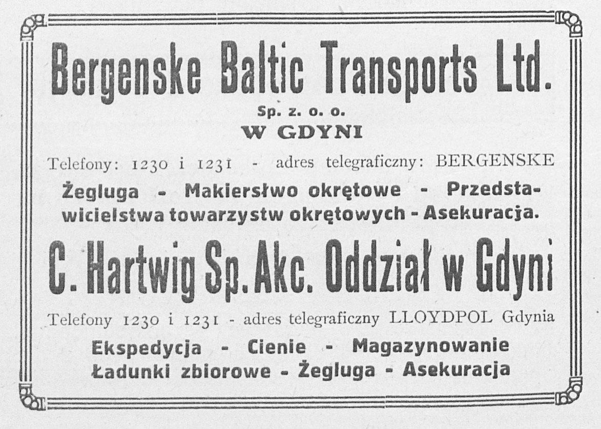 Bergenske Baltic Transport Ltd.