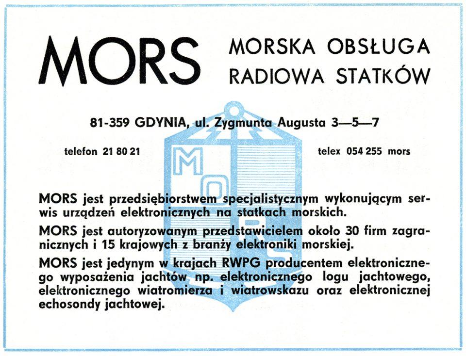 MORS Morska Obsługa Radiowa Statków