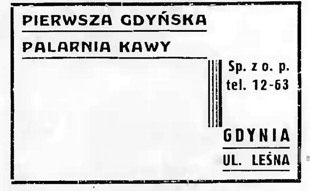 Pierwsza Gdyńska Palarnia Kawy