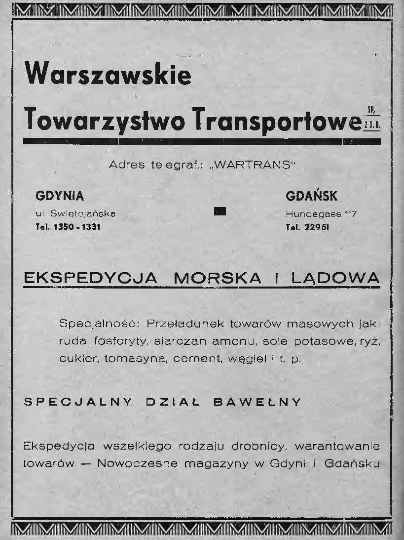 Warszawskie Towarzystwo Transportowe
