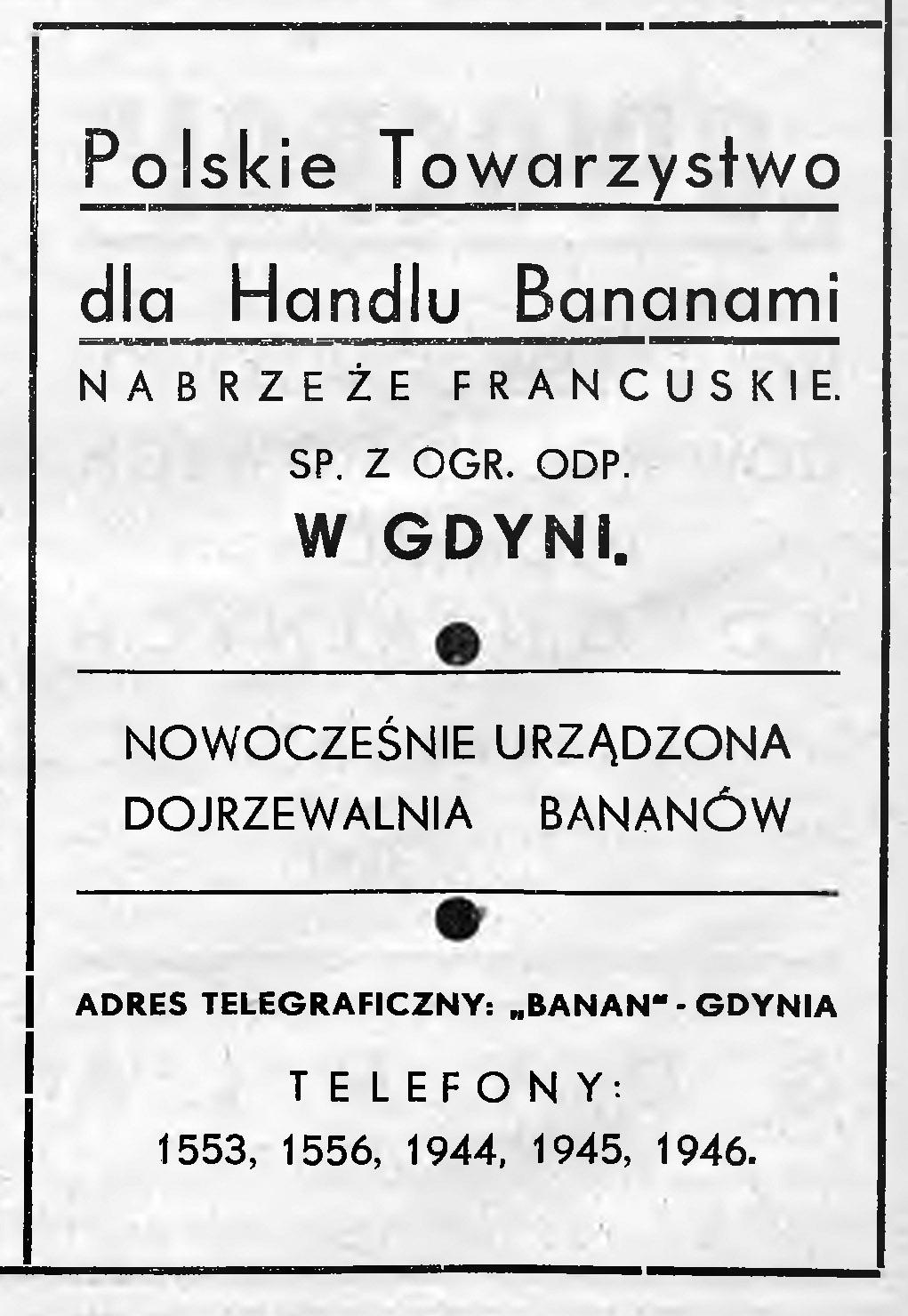 Polskie Towarzystwo dla Handlu Bananami