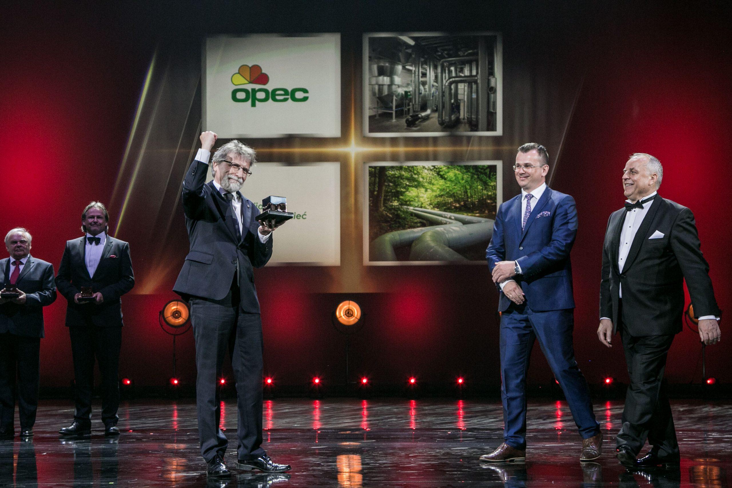 Godło Teraz Polska dla OPEC Gdynia, fot.Kamil Broszko