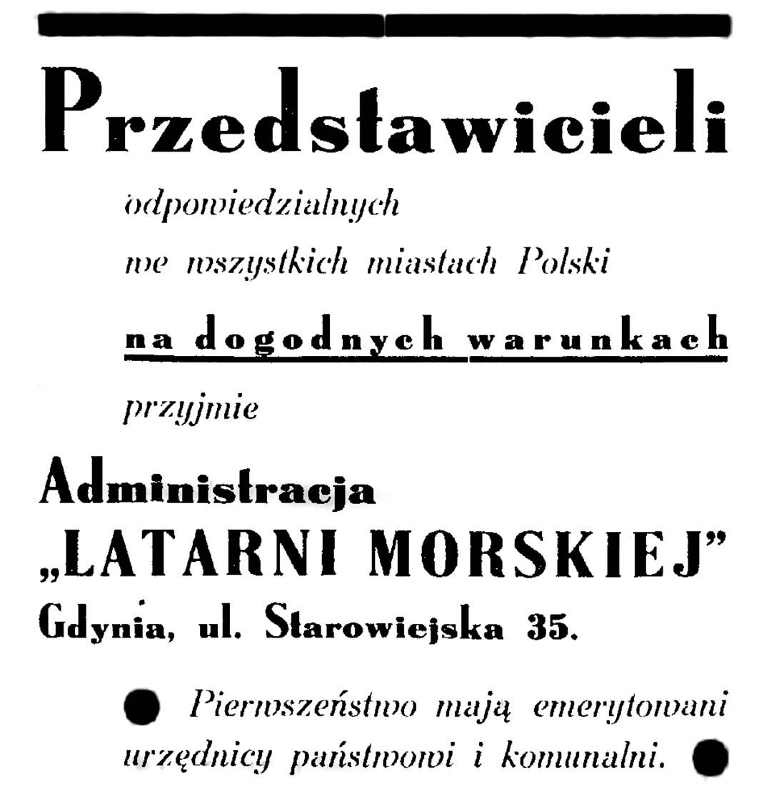 Przedstawicieli odpowiedzialnych we wszystkich miastach POlski