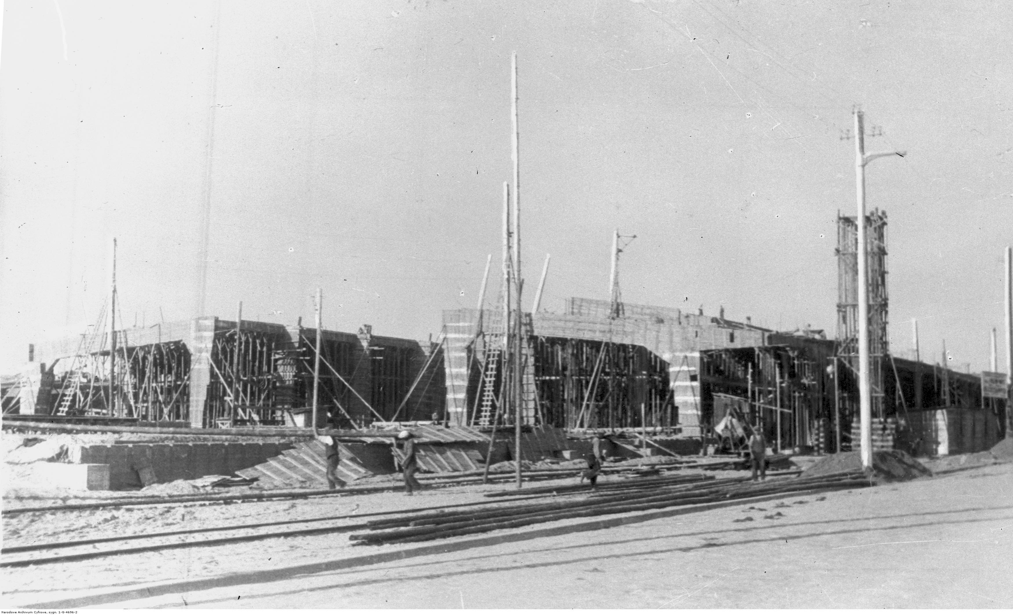 Budowa portu.