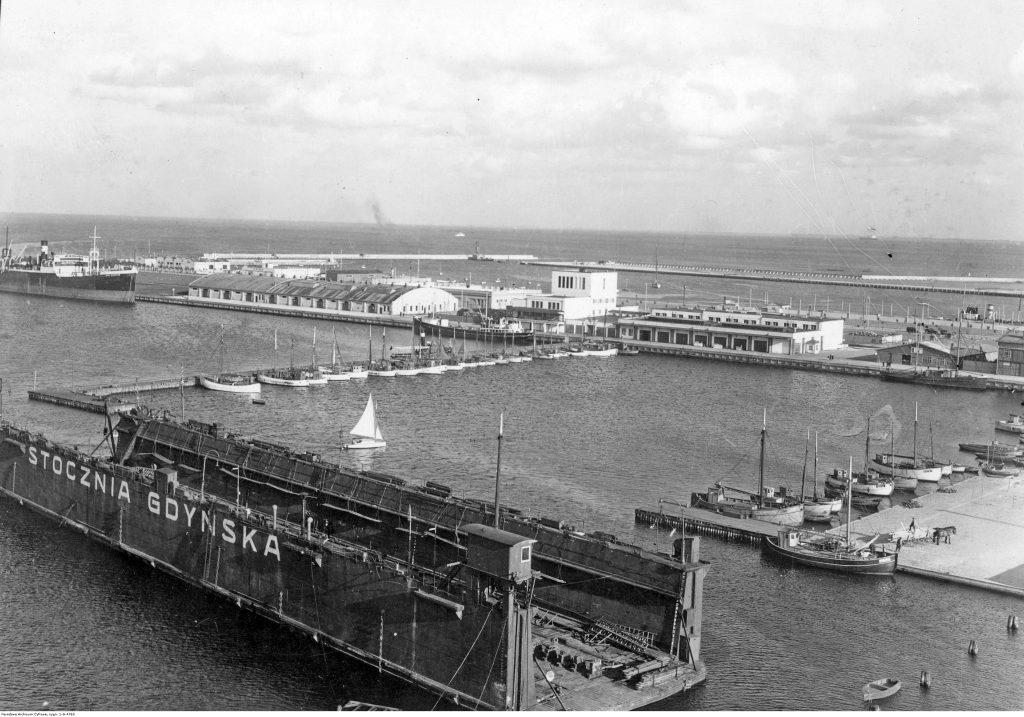 Baseny portowe - basen południowy.