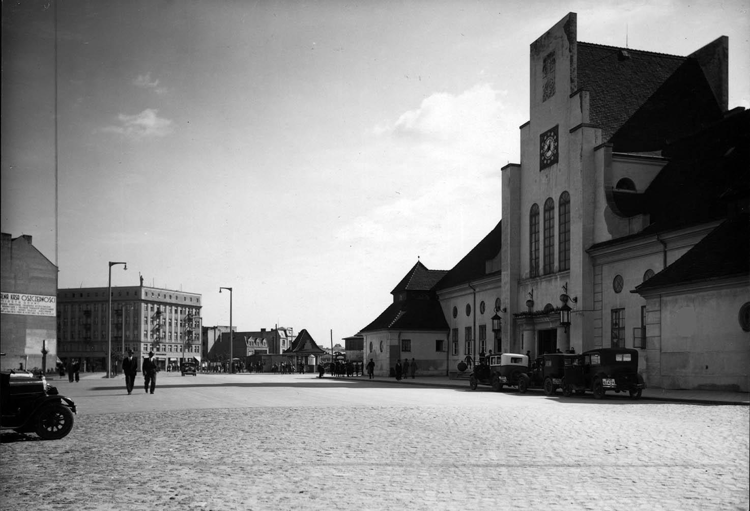Ulica Dworcowa - dworzec kolejowy
