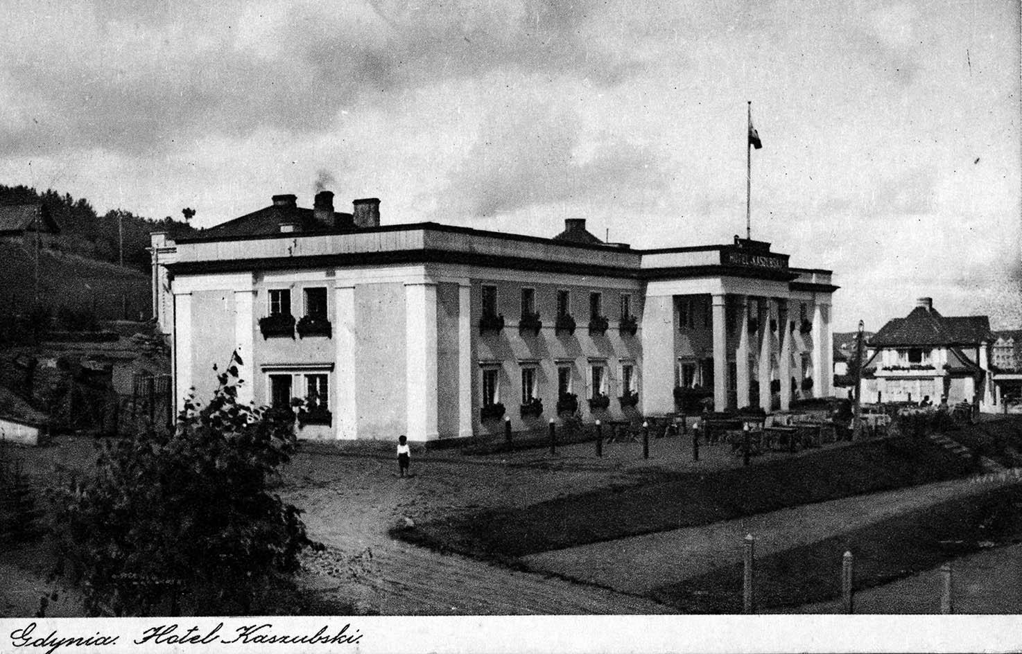 Budynki - Hotel Kaszubski
