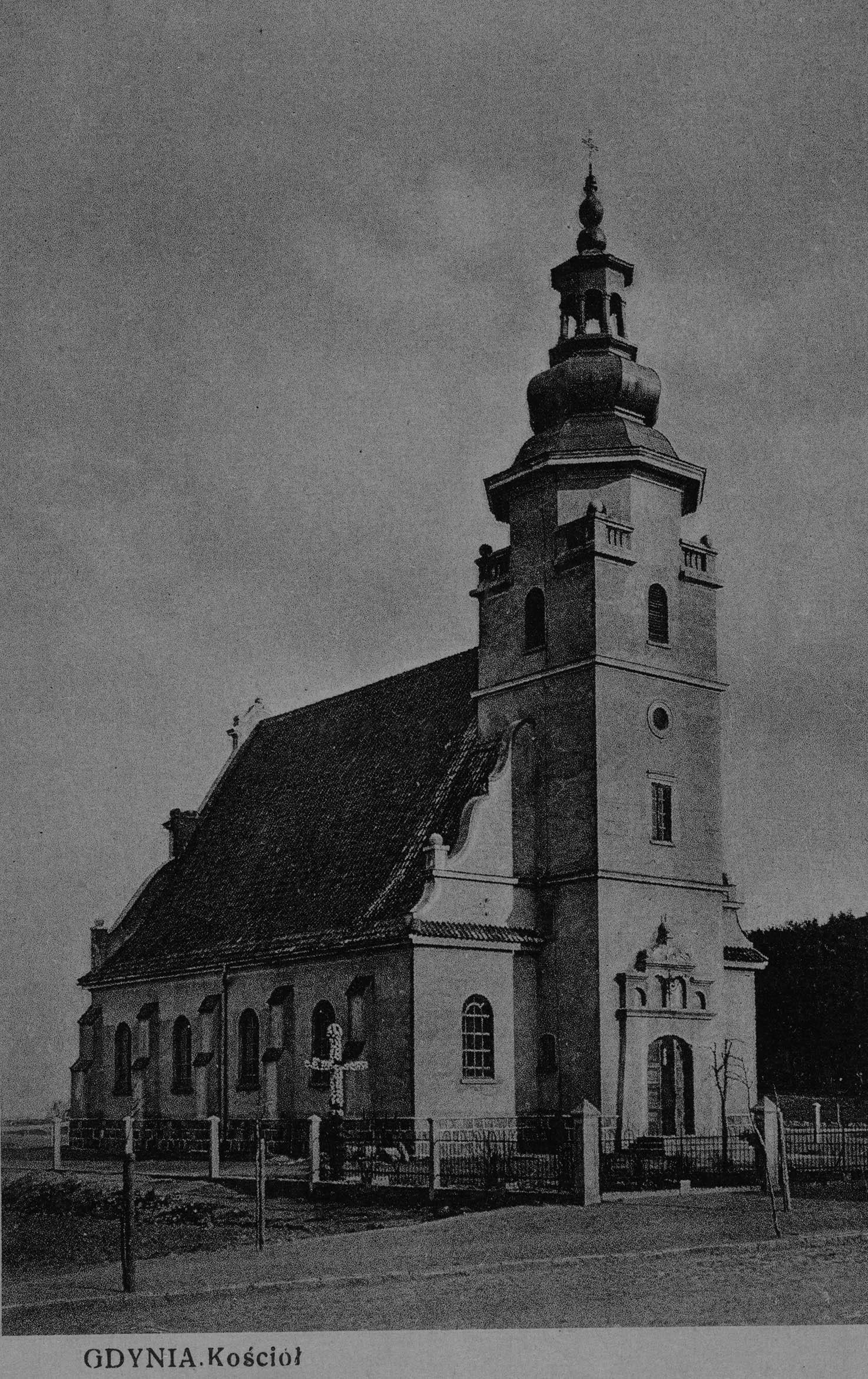 Ulica Świętojańska - Kościół NMP Królowej Polski
