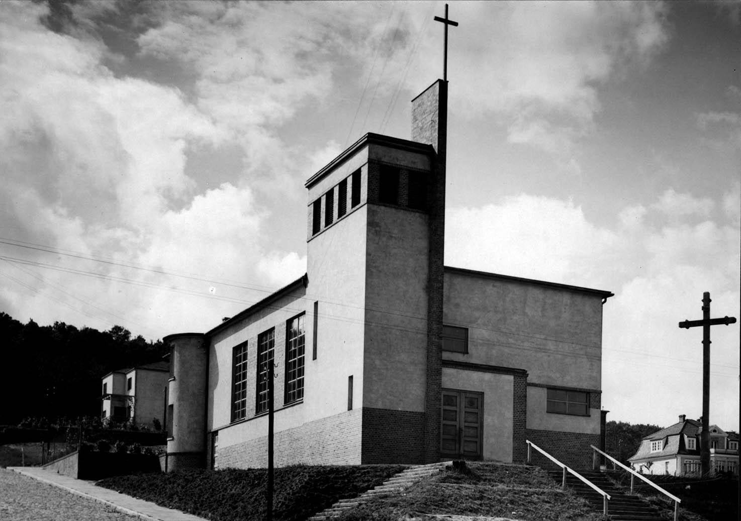 Ulica Morska - kościół