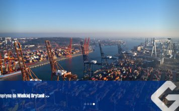 Strona internetowa Portu Gdynia
