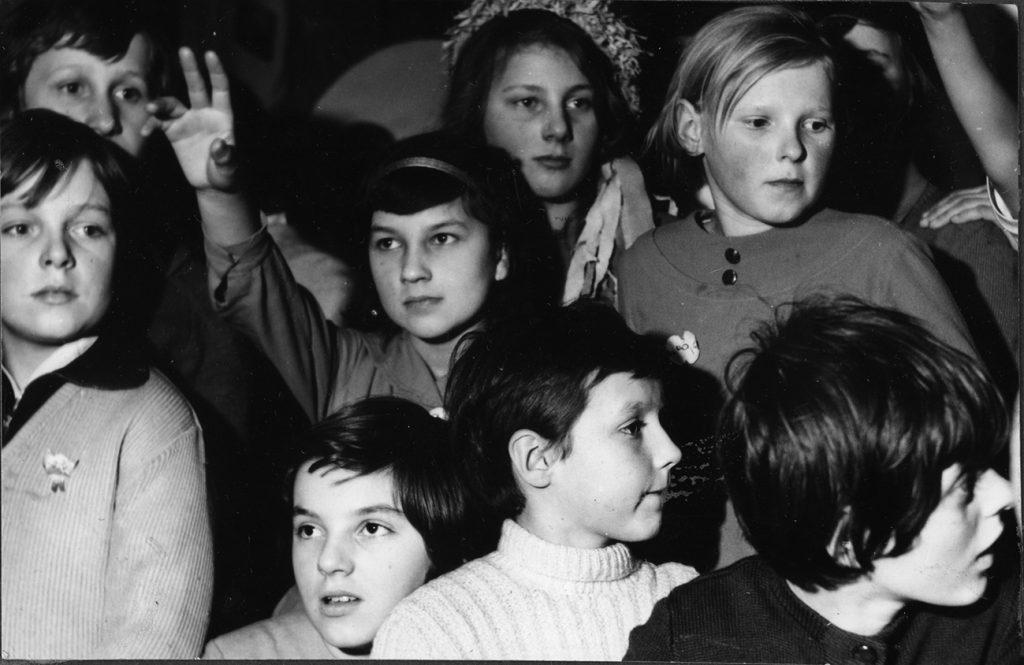 Spotkania dla dzieci - lata 50. - 60.