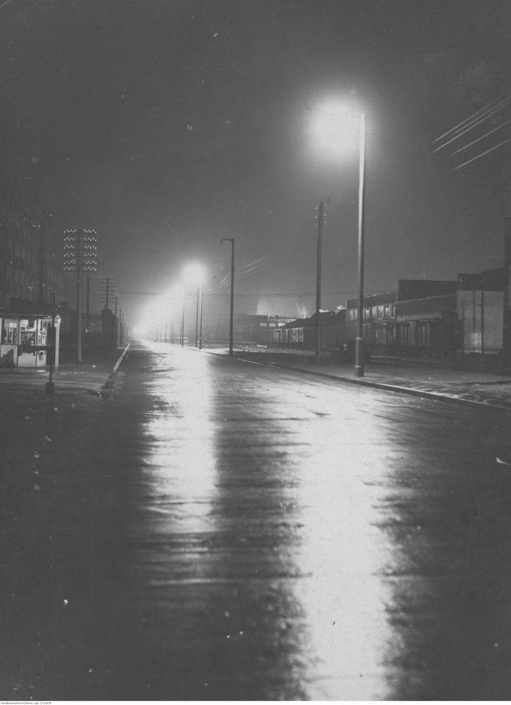 Ulica nocą