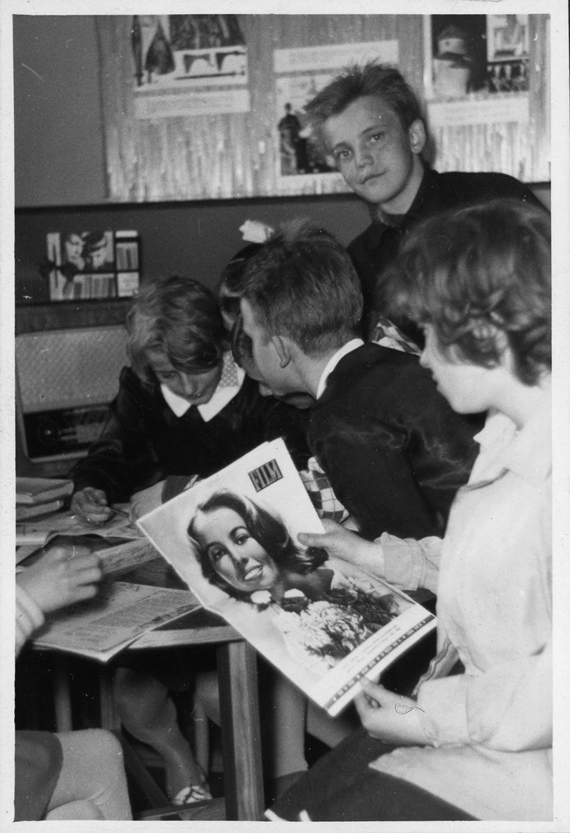 Biblioteka na Obłużu - lata 60.