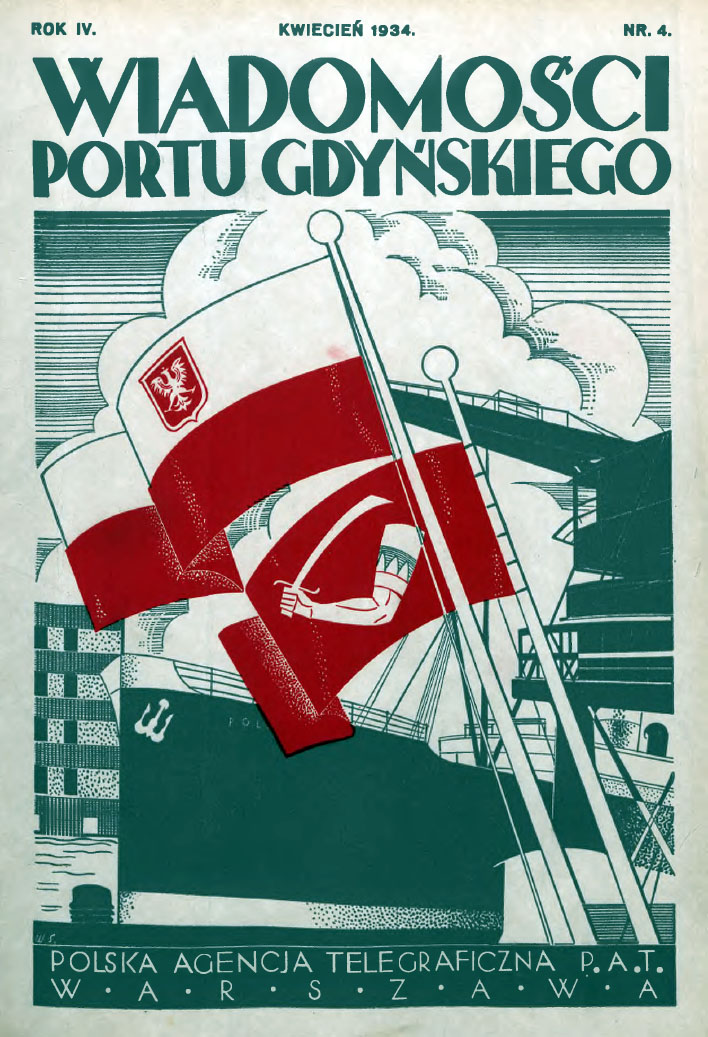 Wiadomości Portu Gdyńskiego. - 1934, z. 4
