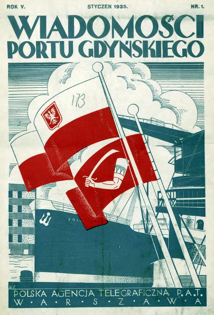 Wiadomości Portu Gdyńskiego. - 1935, z. 1