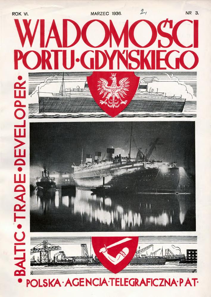 Wiadomości Portu Gdyńskiego. - 1936, z. 3