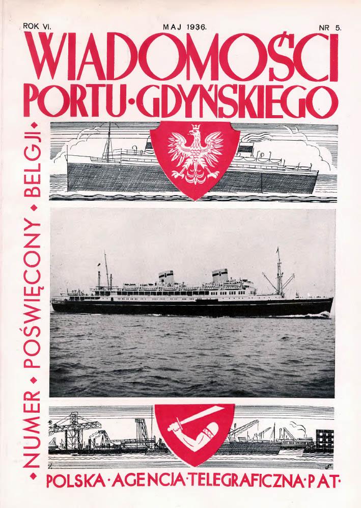 Wiadomości Portu Gdyńskiego. - 1937, nr 5