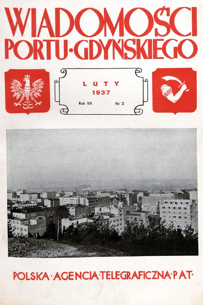 Wiadomości Portu Gdyńskiego. - 1937, nr 2