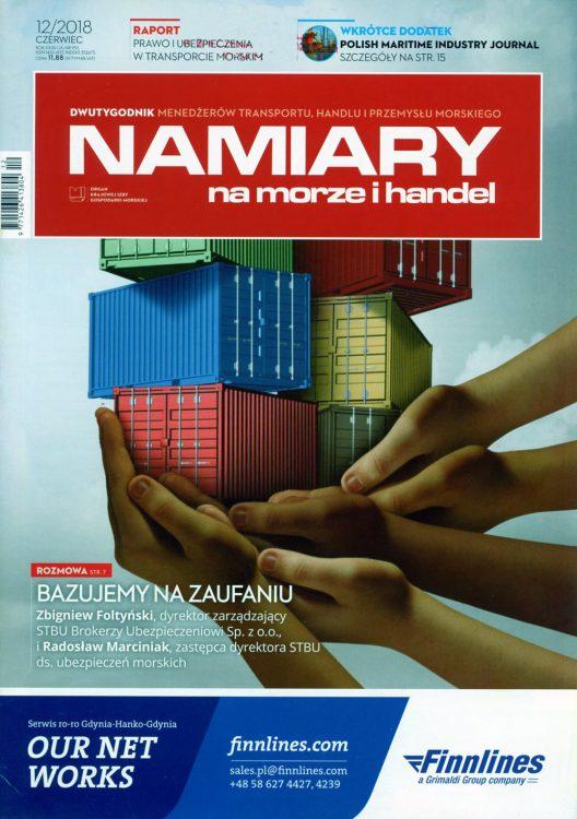 Namiary Na morze i handel 2018, nr 12