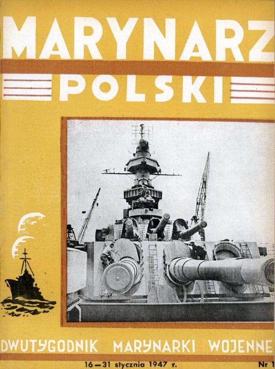 Marynarz Polski : miesięcznik Marynarki Wojennej. - Gdynia : Zarząd Pol.- Wych. Marynarki Wojennej, 1947, 16 - 31 styczeń