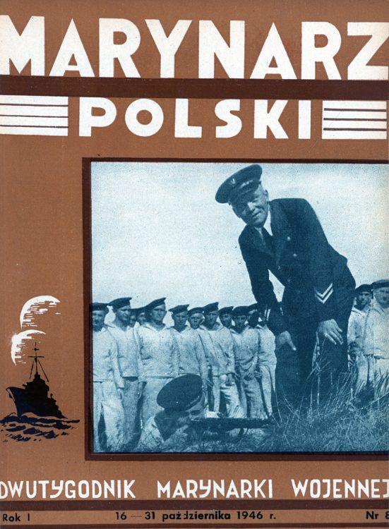 Marynarz Polski : miesięcznik Marynarki Wojennej. - Gdynia : Zarząd Pol.- Wych. Marynarki Wojennej, 1946, październik