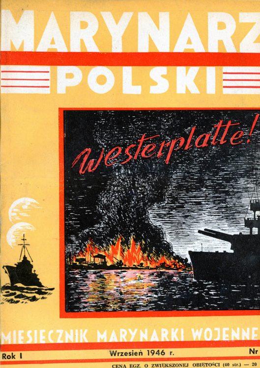 Marynarz Polski : miesięcznik Marynarki Wojennej. - Gdynia : Zarząd Pol.- Wych. Marynarki Wojennej, 1946, wrzesień