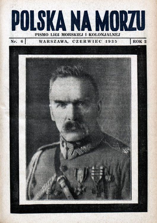 Polska na Morzu : pismo Ligi Morskiej i Kolonjalnej. - Liga Morska i Kolonialna, 1935, nr 6