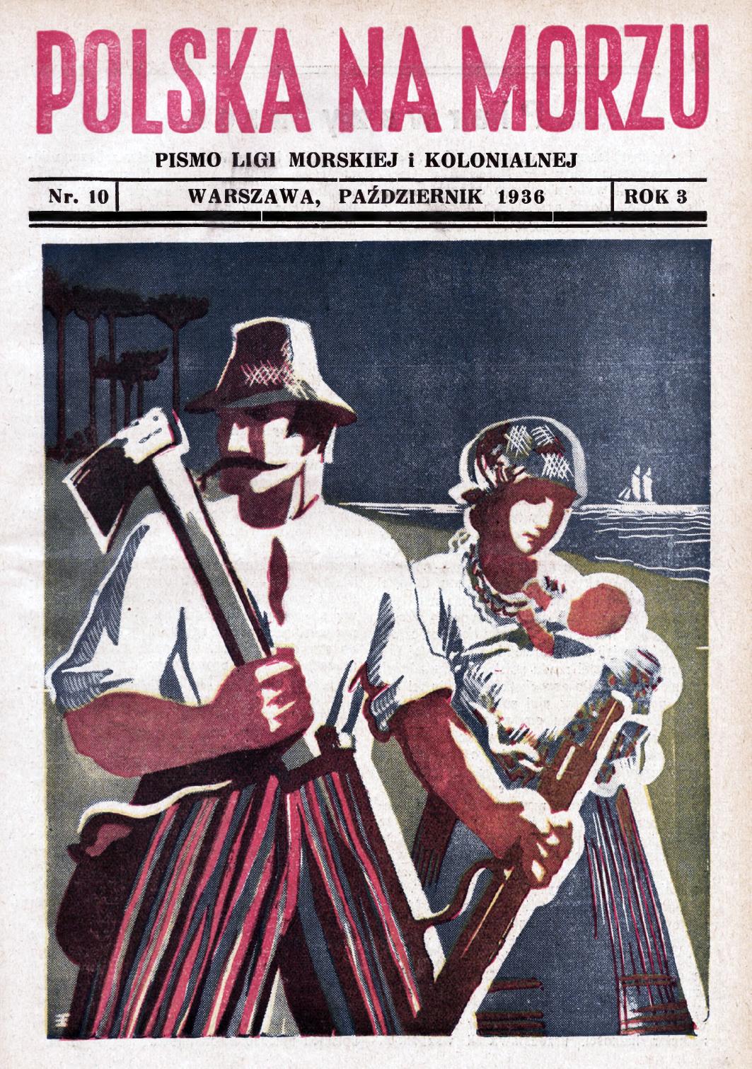 Polska na Morzu : pismo Ligi Morskiej i Kolonjalnej. - Liga Morska i Kolonjalna, 1936, nr 9