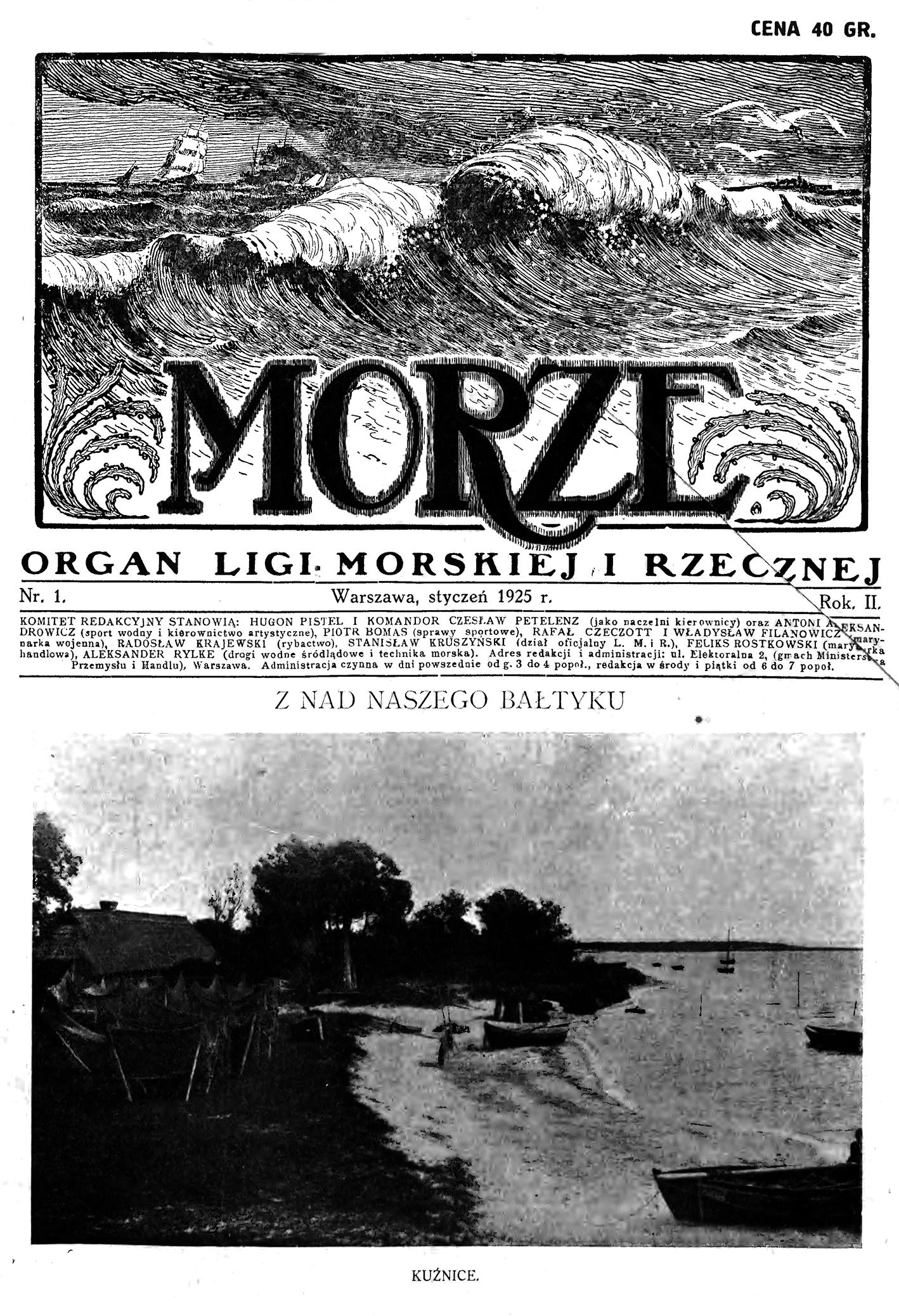 Morze 1925, nr 1