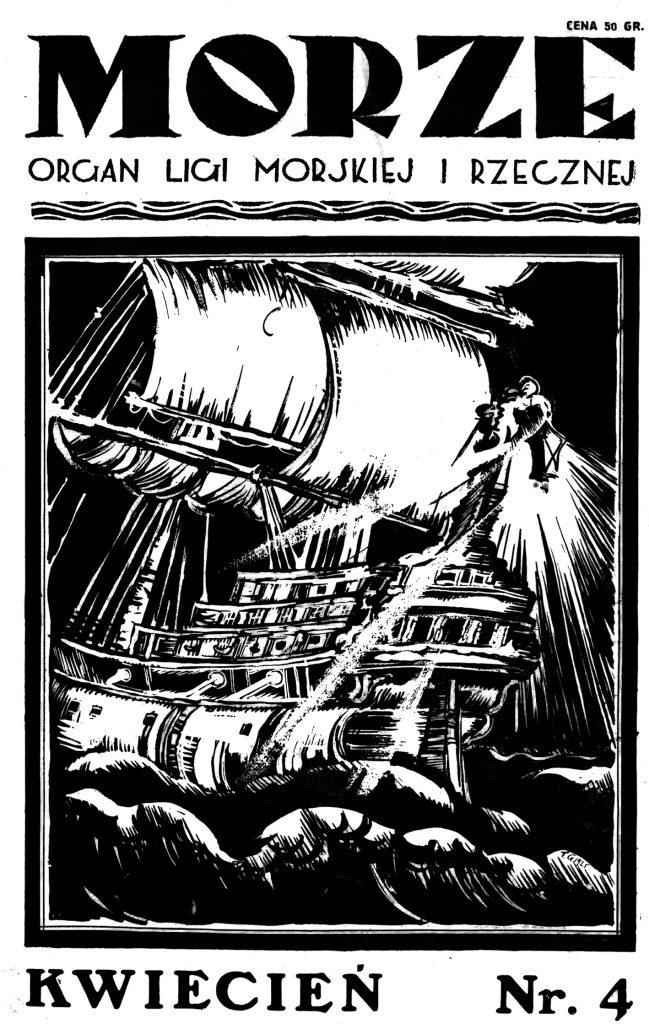 Morze: organ Ligi Morskiej i Rzecznej. - 1925, s. 4