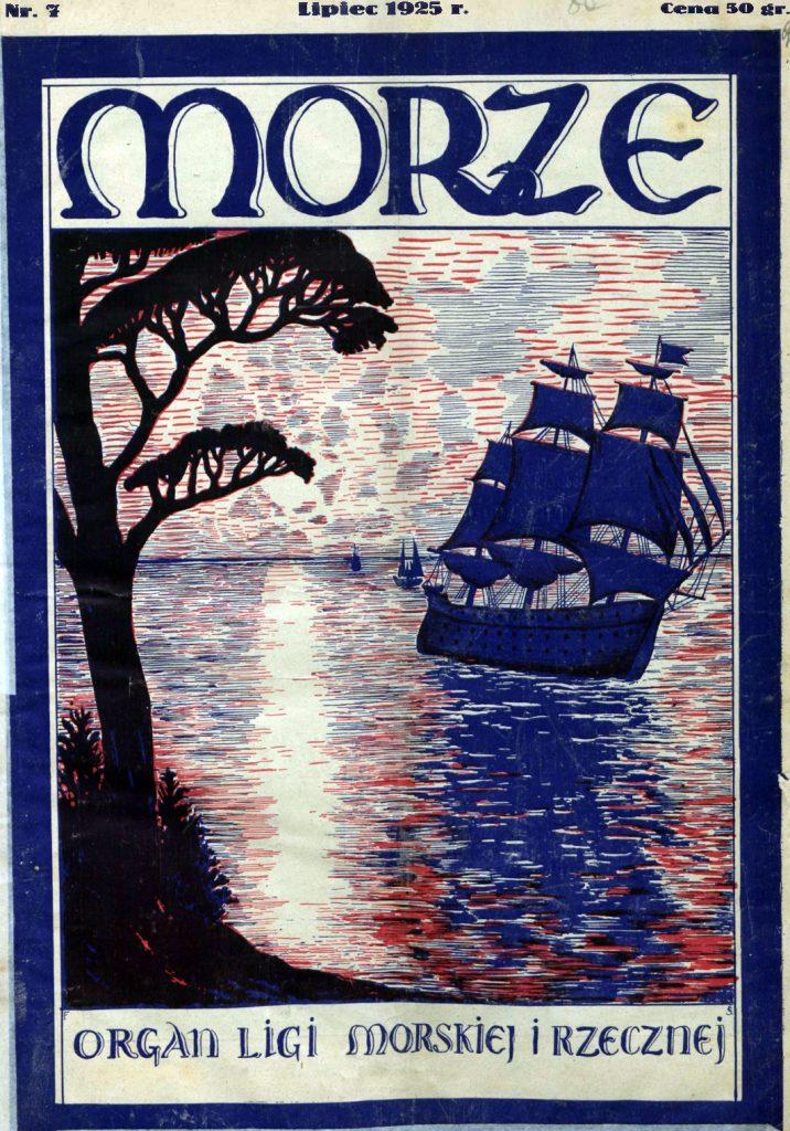 Morze: organ Ligi Morskiej i Rzecznej. - 1925, s. 7