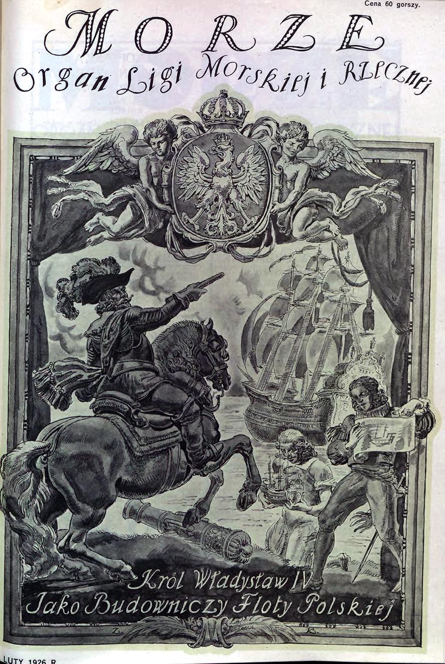 Morze: organ Ligi Morskiej i Rzecznej. - 1926, nr 2