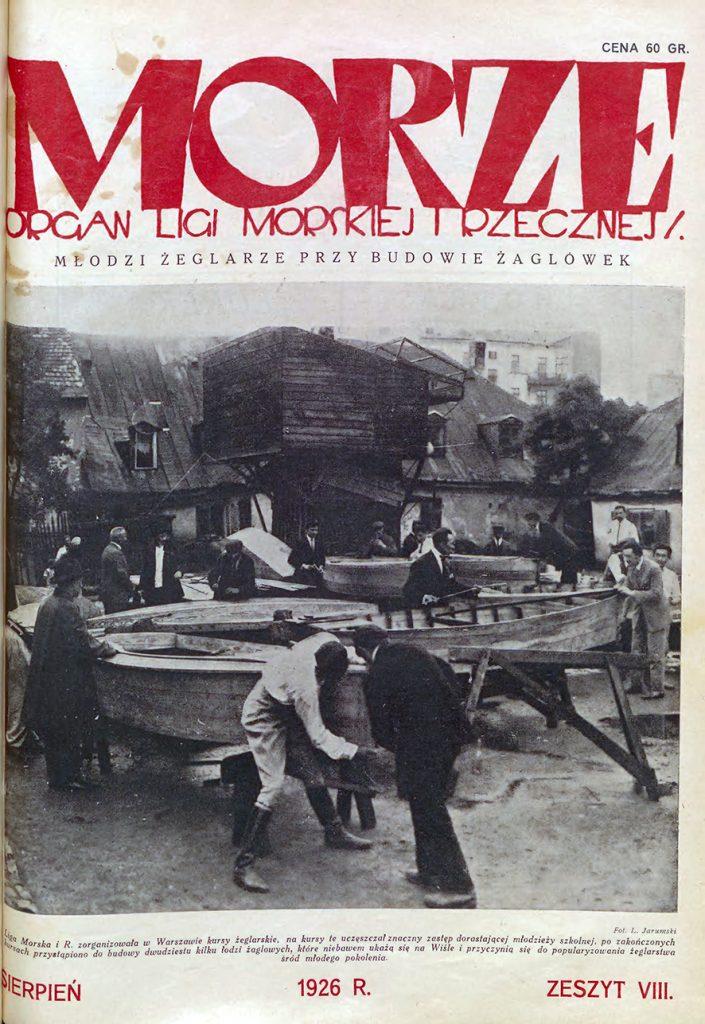 Morze: organ Ligi Morskiej i Rzecznej. - 1926, nr 8