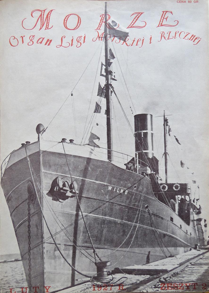 Morze: organ Ligi Morskiej i Rzecznej. - 1927, nr 2