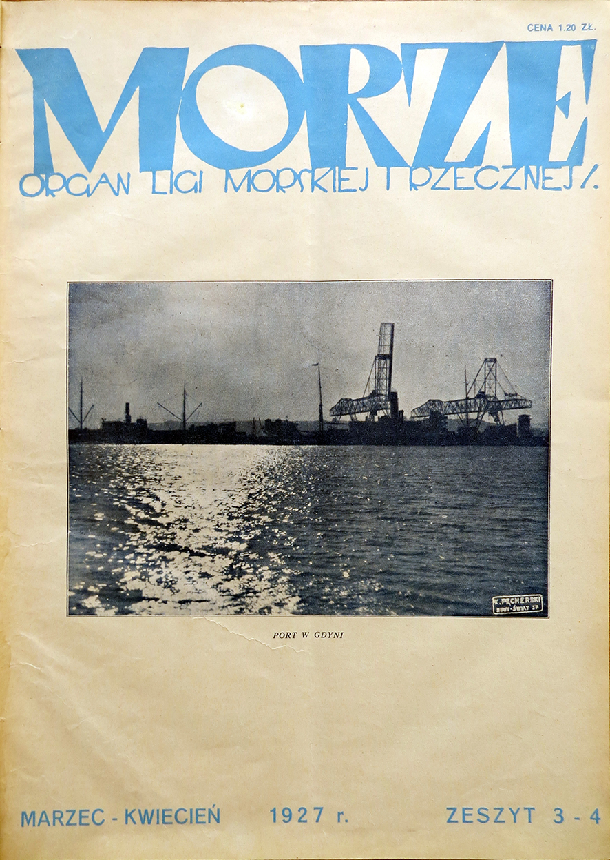 Morze: organ Ligi Morskiej i Rzecznej. - 1927, nr 3/4