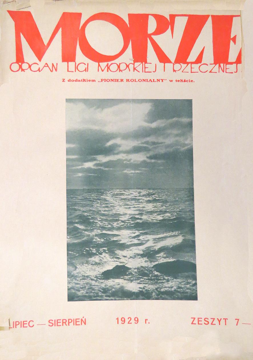 Morze: organ Ligi Morskiej i Rzecznej. - 1929, nr 7/8