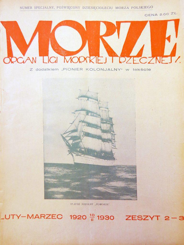 Morze: organ Ligi Morskiej i Rzecznej. - 1930, nr 23